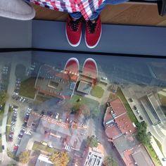 Spojrzenie w dół #Wrocław#Sky#Tower