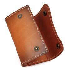kožená kľúčenka - púzdro (etue) na kľúče Card Case, Wallet, Pocket Wallet, Handmade Purses, Diy Wallet, Purses