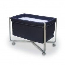 Cambrass Urban Liso Small Bed Cot - Navy Blue