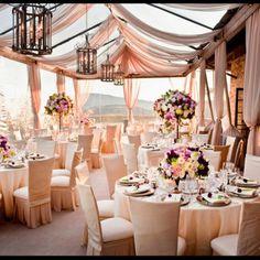 party table decor wedding  (1)