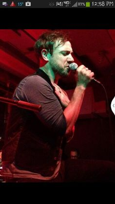Mikel Jollet, lead singer for The Airborne Toxic Event. Love