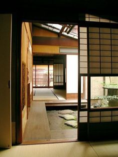 Japanese style house - 12 Unique Japanese House Design Traditional That Simple And Calmness – Japanese style house Small House Architecture, Architecture Design, Japan Architecture, Cultural Architecture, Residential Architecture, Japanese Style House, Traditional Japanese House, Japanese Interior Design, Modern Traditional