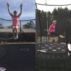 Lose Baby Weight's Trampoline Workout