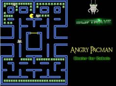 Angry Pacman Robot Free Game - Softrave Games