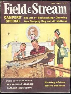 7 1960 Field Stream Magazine | eBay