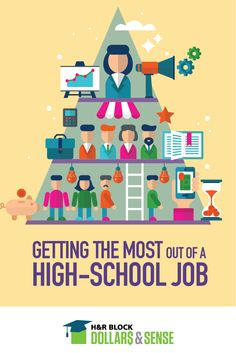 Help your teen get the most out of their high school job. #FinLit #parenting