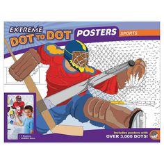 Extreme Dot to Dot 7-Poster Set: Sports - MindWare.com