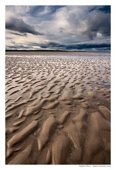 Ripple Effect,West Sands Beach, Scotland  - Explore the World with Travel Nerd Nici, one Country at a Time. http://TravelNerdNici.com