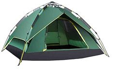 Introducing Generic Extended Side Screened 2 Person Tent Color Green. Great Product and follow us to get more updates!