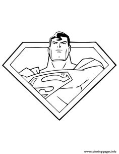Cool Superman S Kids Coloring Pages Printable And Book To Print For Free Find More Online Adults Of