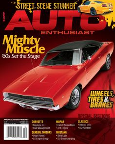 AUTO Enthusiast Magazine cover : September 2011 by Mark Potter, via Behance