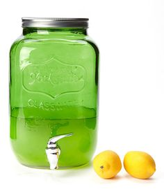 Look at this Green Yorkshire Beverage Dispenser on #zulily today!