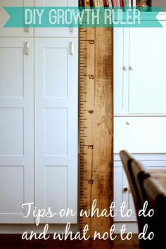I looked at Pinterest and thought, I could do that! How hard can it be? Of course I would find a way to mess it up, so I made these DIY growth ruler tips for you