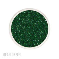 Mean Green Glitter