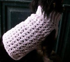 Free Printable Dog Sweater Patterns   sweater pdf pattern # af1217 copperllamastudio patterns on artfire ...
