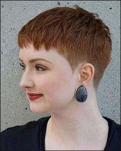 Die besten 25+ Kurzhaarfrisuren für rundes gesicht Ideen auf ... | Einfache Frisuren