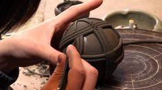 陶芸作家 原田省平さん Japanese Ceramic Artist - Shohei Harada Throwing and amazing hand embelishments to thrown forms.