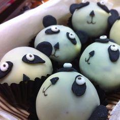 Panda cake balls :)