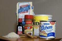Ingredients for Venezuelan Chicha