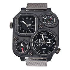 【 オウルム 】Oulm 腕時計 メンズシミュレーションロシア軍ウォッチ - スクエアダイヤル スチールの時計 ブラックバンド Oulm http://www.amazon.co.jp/dp/B00Q68QIDI/ref=cm_sw_r_pi_dp_uR2Jwb0B44ZRY
