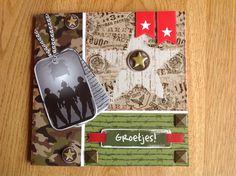 Army card - Leger kaart