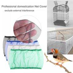 Bird Cage Covers, Easy Bird, Parrot Toys, Wooden Bird, Fabric Birds, Bird Cages, Bird Toys, Starling, Decoration
