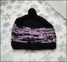 1383bb048f4 Items similar to Hand Knit Pom Pom Hat