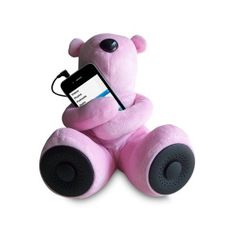 Portable Teddy Speaker For iPod, iPhone, Smartphone, MP3, Media Player