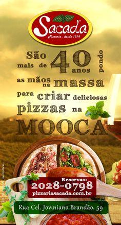 Cliente: Sacada Pizzaria - Mallerba Comunicação 2016