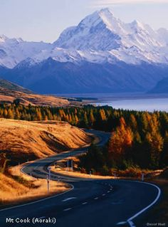 Mt Cook .. New Zealand