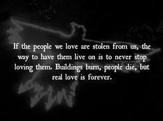 Want this quote for my memorial piece on my back. The Crow (1994)