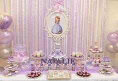 Festa da Princesa Sofia: 30 ideias irresistíveis para você se inspirar!