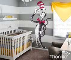 seuss for 2019 ideas baby room art dr. seuss for 2019 Baby Boy Nursery Themes, Nursery Twins, Baby Room Art, Kids Room Wall Art, Baby Boy Rooms, Baby Boy Nurseries, Baby Decor, Room Kids, Nursery Wall Stickers