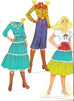 Paper dolls - I used to make my own, or add dresses to the ones I had. I wanted to be a fashion designer way back when. :P