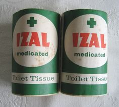 Izal Medicated Toilet Tissue, toilet paper in schools
