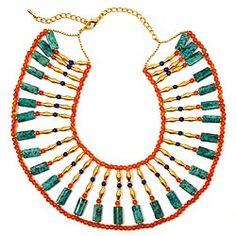 Multi-Stone Egyptian Collar