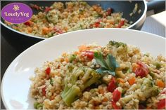 Quinoa, Risotto, Vegetarian Recipes, Grains, Rice, Vegan, Vegetables, Cooking, Ethnic Recipes