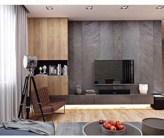 Living room tv wall ideas storage 36 Ideas for 2019 Wall Cabinets Living Room, Tv Wall Cabinets, Living Room Tv Unit, Living Room Interior, Living Room Decor, Home Living Room Wallpaper, Console Design, Tv Cabinet Design, Tv Wall Design