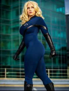 Marvel Girls, Tights Outfit, Fantastic Four, Skin Tight, Catsuit, Get Dressed, Cosplay Costumes, Samurai, Leather Pants