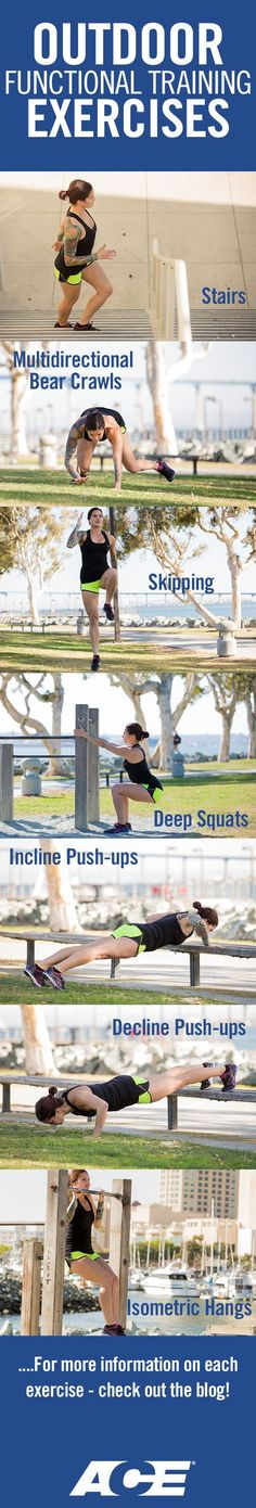Outdoor Functional Training Exercises