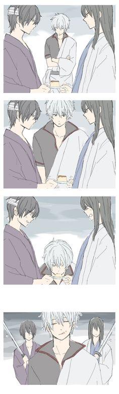 Pixiv Id 112780, Gin Tama, Katsura Kotaro, Takasugi Shinsuke, Sakata Gintoki