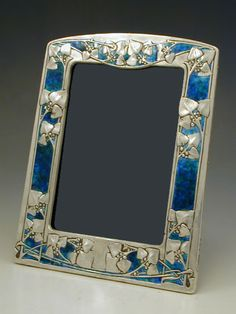 Archibald Knox for Liberty & Co. SIlver & Enamel Picture Frame