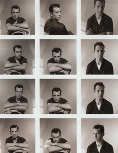 Jack Kerouac-Portrait session.