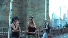 . Fresh Fruit, New York, People, Brooklyn Bridge, Essayist, Bridges, New York City, Nyc, People Illustration