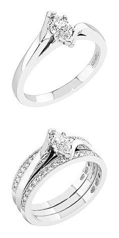 Kastepisara-malliston kaunis ja linjakas solitaire-sormus markiisihiontaisella timantilla. Uuden M-550w sormuksen istutus ja runko on muotoiltu korostamaan markiisihiontaista timanttia ja istutuksen sovitus runkoon on tehty siten, että vierelle sopii hyvin toinen sormus, esim. sileä kihla tai rivisormus. Sormuksen timanttia kohti kapenevan rungon leveys on sivuilla noin 2 mm. M-550w sormuksen suositushinta 14K valkokultaisena on alkaen noin 2450 €, M-650w rivisormuksen suositushinta on 1259… Engagement Rings, Jewelry, Fashion, Enagement Rings, Moda, Wedding Rings, Jewlery, Jewerly, Fashion Styles