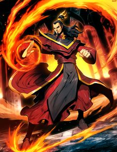 avatar the last airbender - ozai by genzoman. awesome show and i love this art