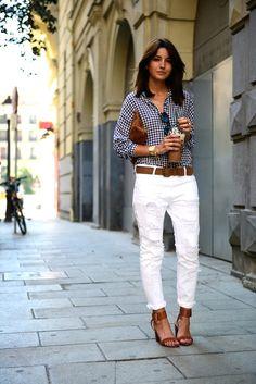19 Le Fashion Blog 30 Fresh Ways To Wear White Jeans Gingham Button Down Shirt Sandals Via Lovely Pepa photo 19-Le-Fashion-Blog-30-Fresh-Ways-To-Wear-White-Jeans-Gingham-Button-Down-Shirt-Sandals-Via-Lovely-Pepa.jpg