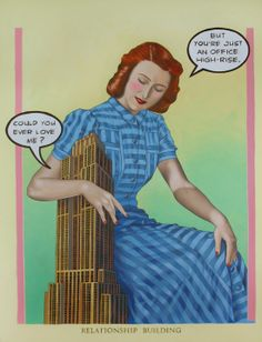 You will fall in love with Sam Grant's catchy vintage inspired paintings