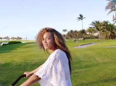 Beyonce on Vacation