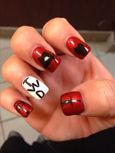 My nails. The walking dead! 2days!